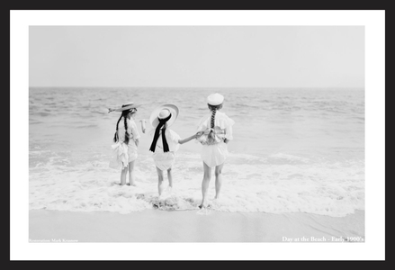 Children at the Beach - Early 1900's