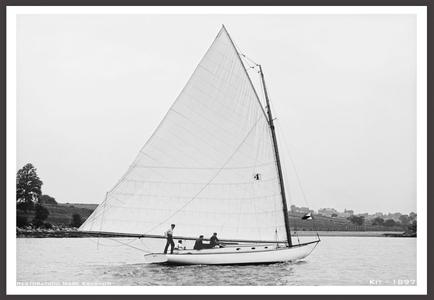 Kit 1897 - Vintage Restored Sailing Art Print