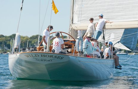 W-Class W.76 Wild Horses at the Museum of Yachting - IYRS  Regatta in Newport, RI