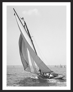 Anoatok 1899 - Vintage Sailboat Vertical for Home & Office Interiors