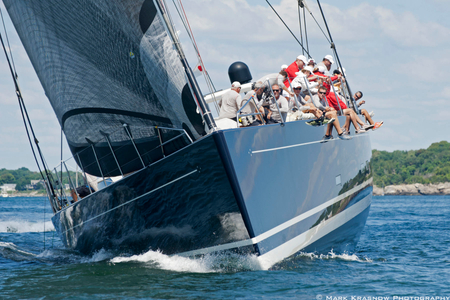 P2 Superyacht at the Newport Bucket Regatta in Newport, RI 2014