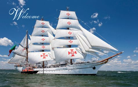 Tall Ship Sagres of Portugal