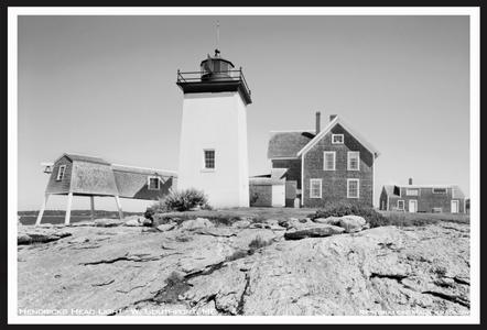 Hendricks Head Light - West Southport, Maine