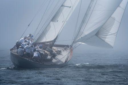 Blue Peter in the Fog - Mylne Design