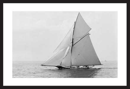 Historic Sailing Art Prints - Cutter Barbara - 1891