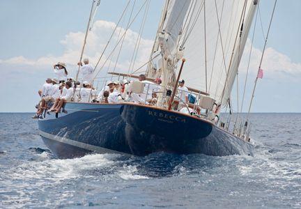Superyacht Rebecca in Antigua