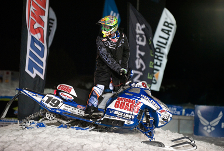 National Guard snowcross rider in NH