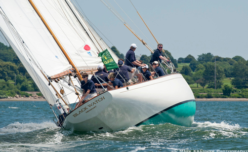 Black Watch Racing at the NYYC Classic Regatta in Newport, RI