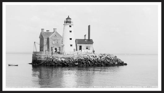Execution Rocks Lighthouse NY - 1896