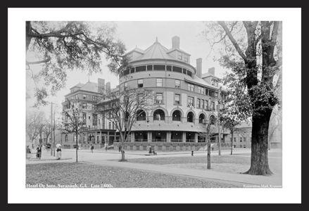 Hotel De Soto, Savannah, GA - Late 1800s
