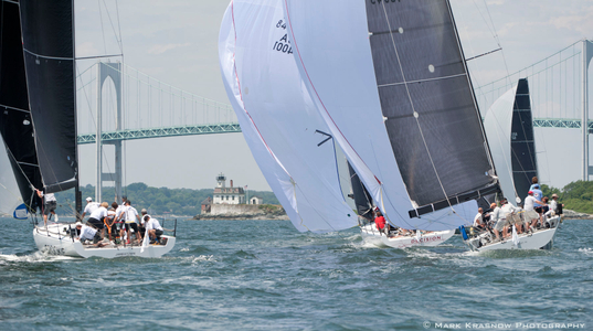 NYYC 161st Annual Regatta just off Rose Island Light - Newport, RI