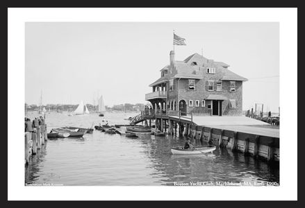 Boston Yacht Club, Marblehead, MA, Early 1900s