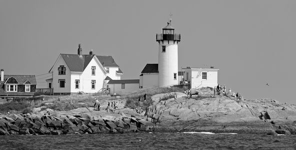 Eastern Point Light in Gloucester MA
