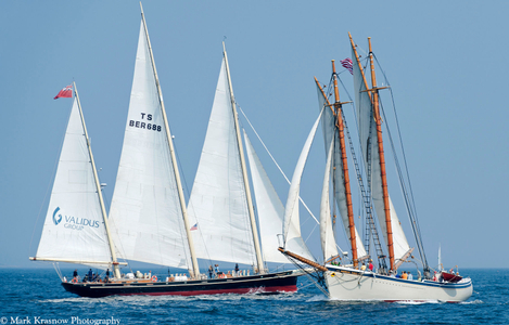 Spirit of Bermuda and Schooner American Eagle of Maine