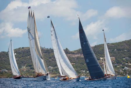 Alexa, Adix, Blue Peter, Wild Horses and Nordwind in Antigua
