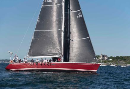 Lady B at the Newport to Bermuda Start 2016