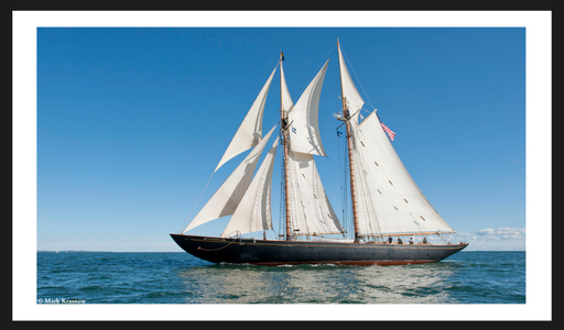 Schooner Virginia - Sailboat Art prints for home and office
