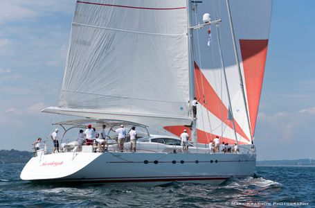 Superyacht Sunleigh at the Candy Store Cup Newport, Rhode Island