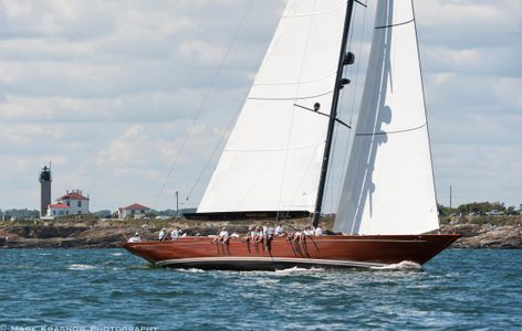 Tempus Fugit  at the Newport Bucket Regatta in Newport, RI 2014