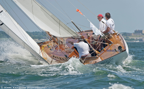 Classic 8 Metre Angelita - Winner of the 1933 Summer Olympics at the NYYC 161st Annual Regatta