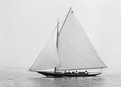 Pyxie - Vintage Sailing Art Print - Late 1800's