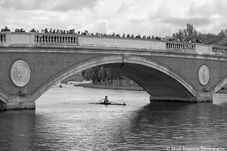 Head of the Charles at the John Weeks Bridge Boston, MAles