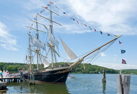 The Joseph Conrad at Mystic Seaport  in Mystic, CT