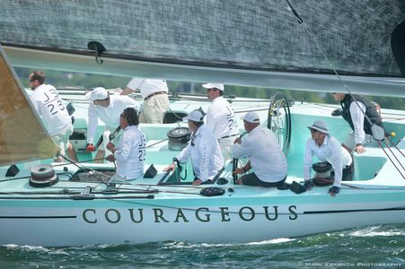 12 Metre Courageous at the NYYC 161st Annual Regatta - Newport, RI