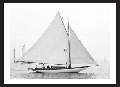 Madrine 1894 - Vintage Sailing Restored Art Prints