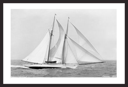 Classic Sailing and Sailboats Restoration art prints - 1892