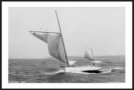 Classic Sailing and Sailboats Restoration art prints  - 1895