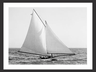 EZ Sloat - 1896 - Vintage Sailing Art Print