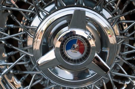 spoke wheels classic car rims art print