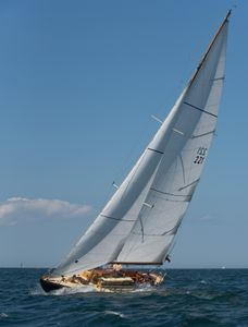 Sparkman & Stephens Sloop Courageous at the Opera House Cup