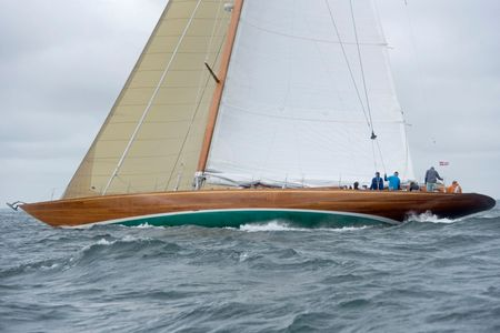 Classic Yacht Sophie Racing at the Vineyard Cup
