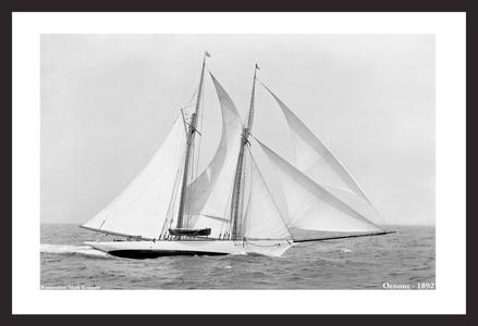 Classic Sailing and Sailboats Restoration art prints - 1892