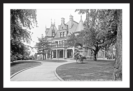 Wesson House Springfield, MA Early 1900's