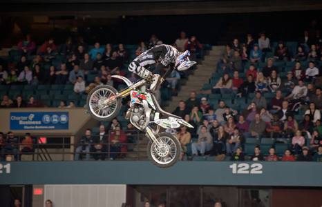 Freestyle Motocross racing in Boston, MA