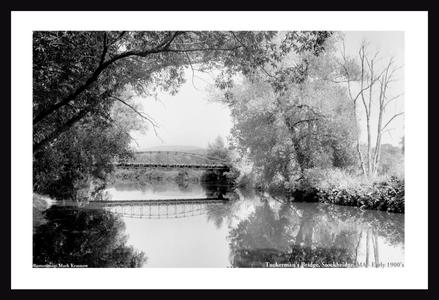Tuckerman's Bridge, Stockbridge, MA Early 1900 copy