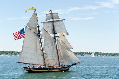 Schooner Pride of Baltimore II at Newport Parade of Sail