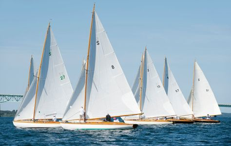 Class Start at the Museum of Yachting - IYRS Regatta in Newport, RI,