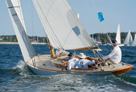 Ruweida V at the Museum of Yachting - IYRS, Newport, Rhode Island
