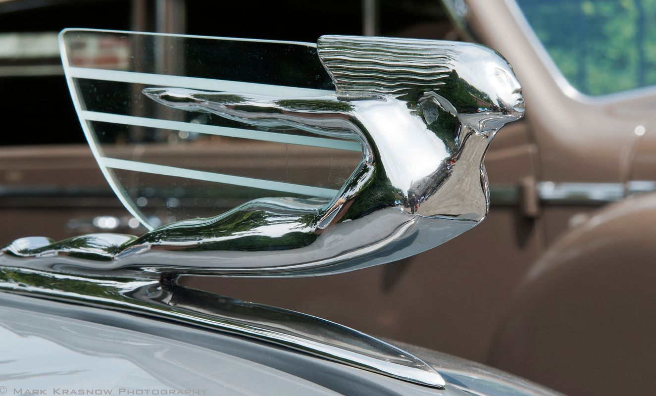 Vintage Cadillac Flying Woman Hood Ornament