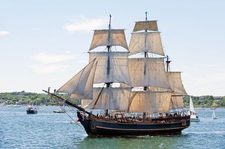 HMS Bounty in Newport, RI