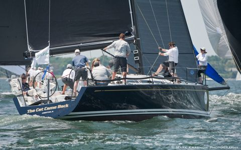 The Cat Came Back Racing at the NYYC 161st Annual Regatta - Newport, RI