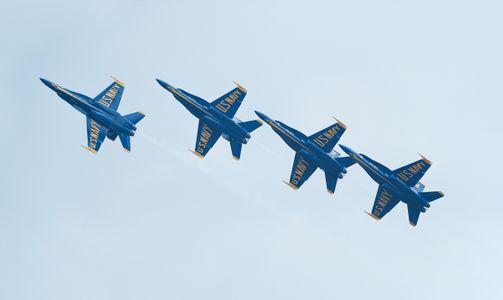 Blue Angels F-18 Superhornets