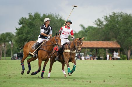 Polo match U.S. Open in Wellington Florida