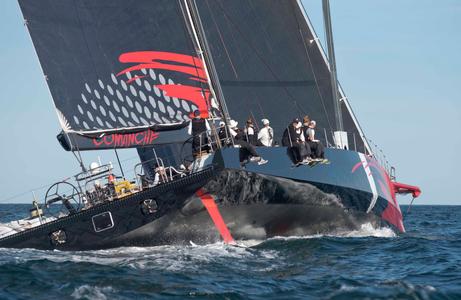 Comanche at the Newport to Bermuda Start 2016