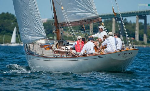 Sonny at the Museum of Yachting - IYRS Regatta in Newport, Rhode Island
