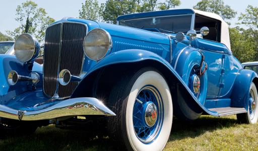 Auburn vintage automobile classic photography art print